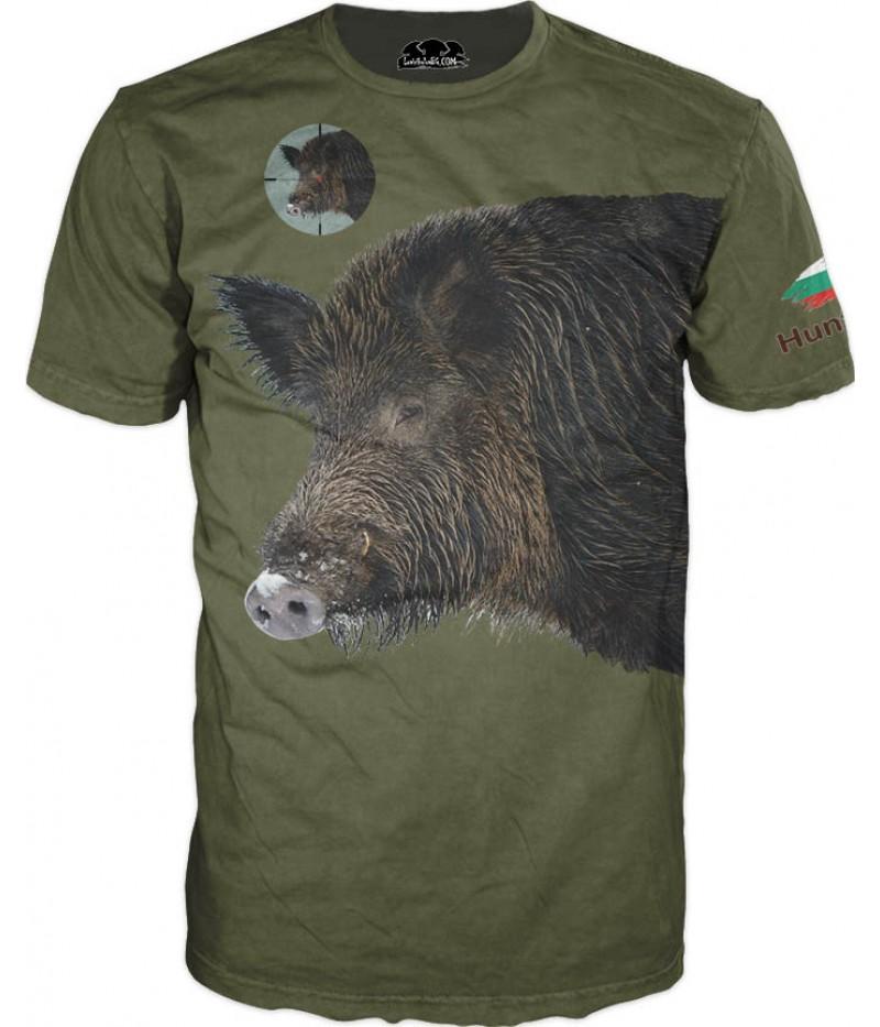 Ловна тениска - Глиган