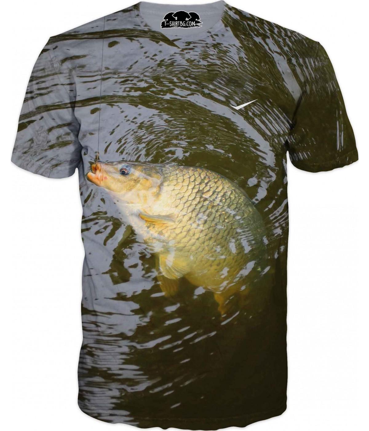Риболовна тениска - вълни