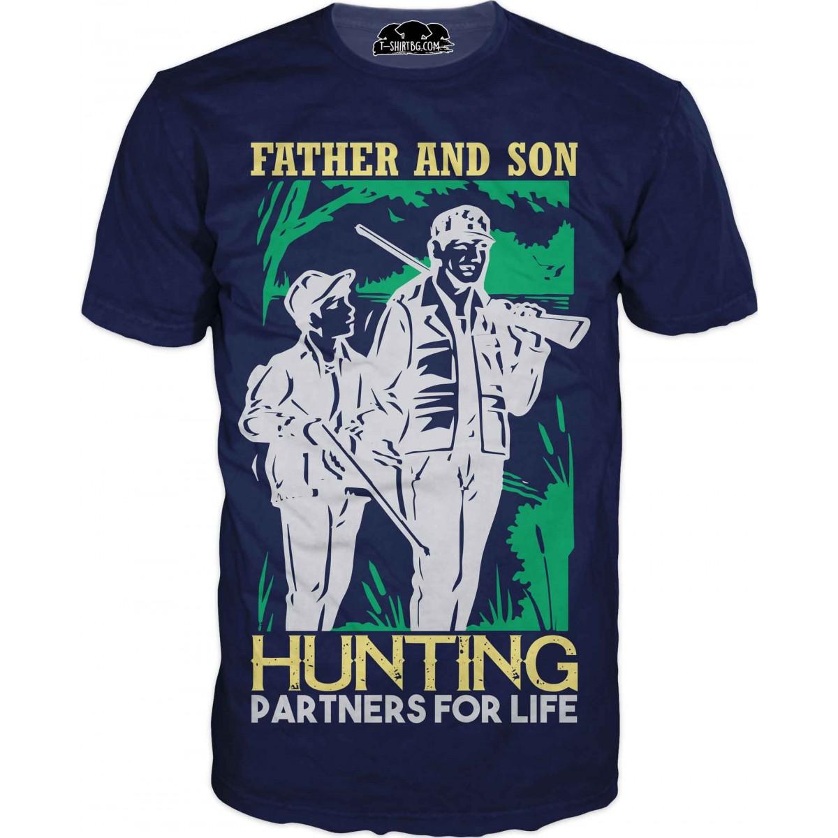 Риболовна тениска - партньори в риболова