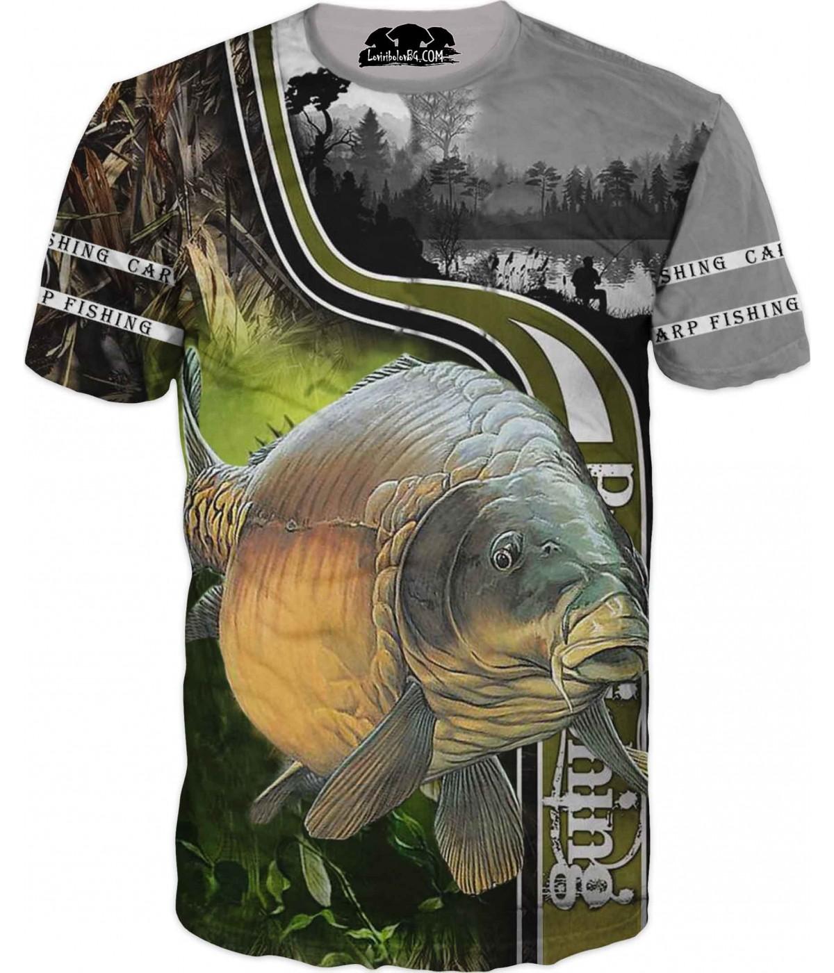Риболовна тениска - за всеки фен