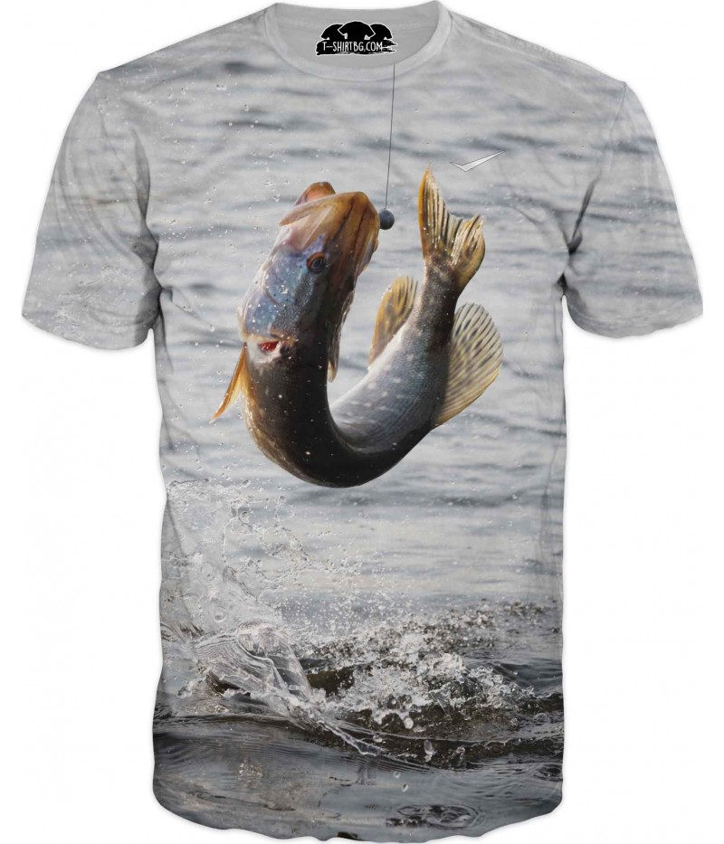 Риболовна тениска - уловена риба