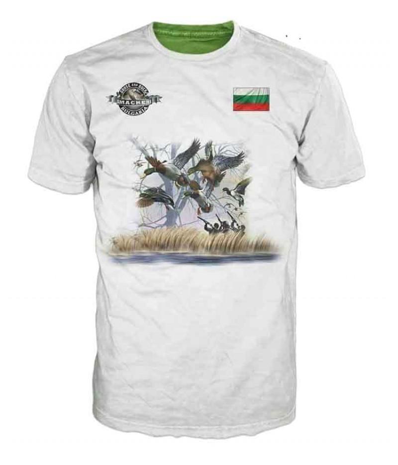 Ловна тениска с патици
