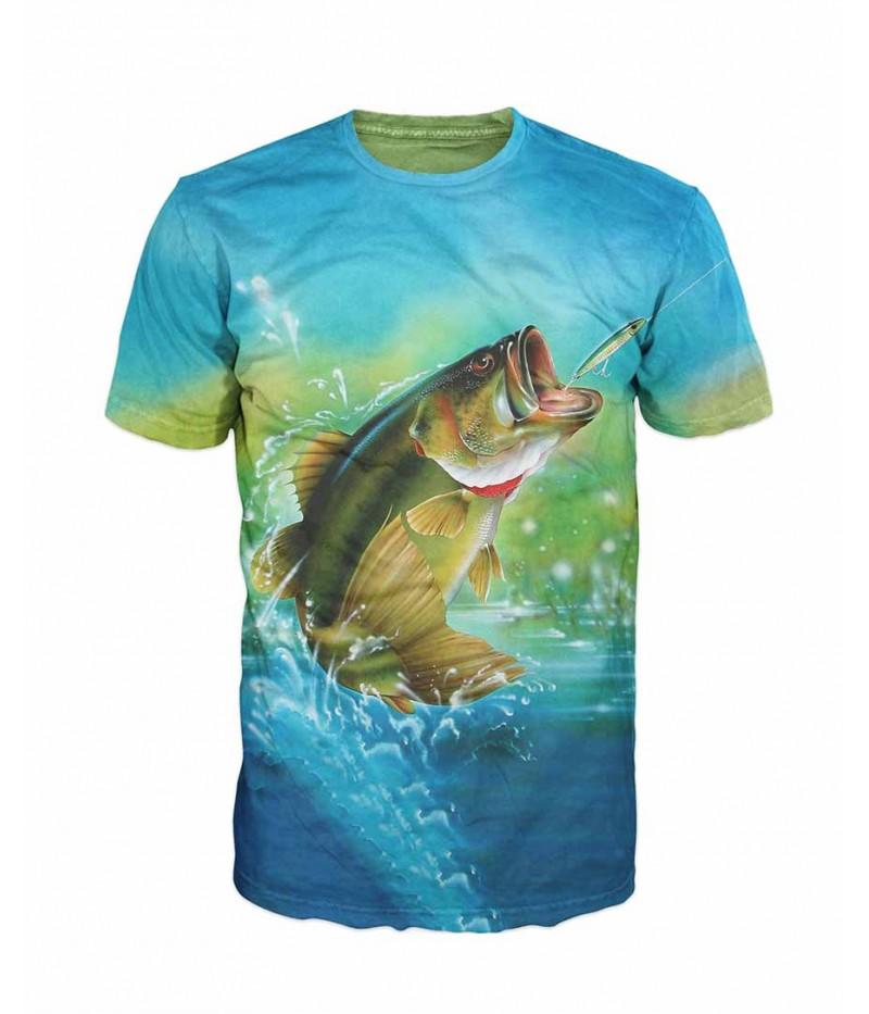 Риболовна тениска с шаран