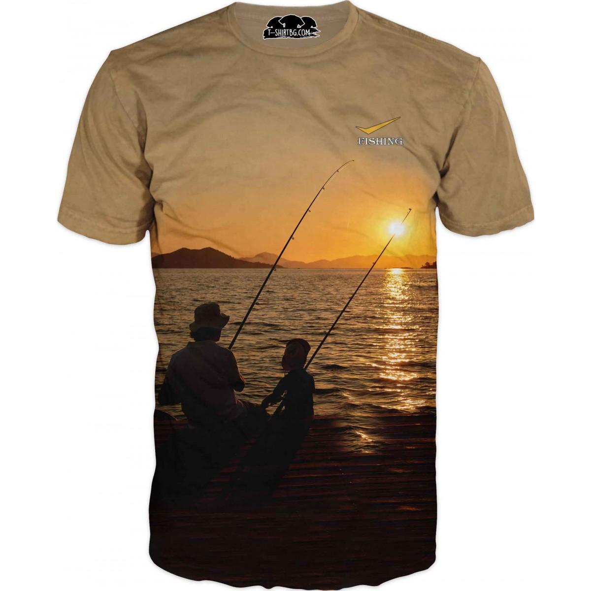Тениска - Риболов край брега