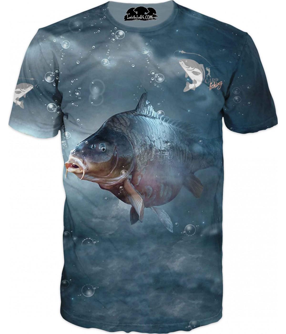 Риболовна тениска - фантазия