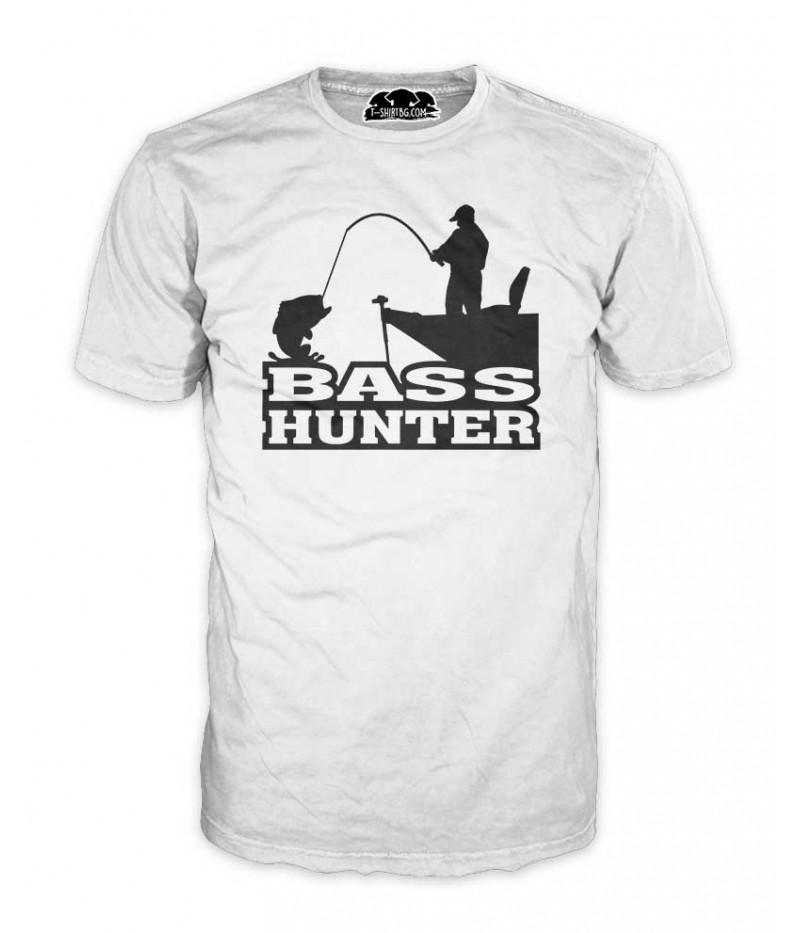 Риболовна мъжка тениска - Bass Hunter