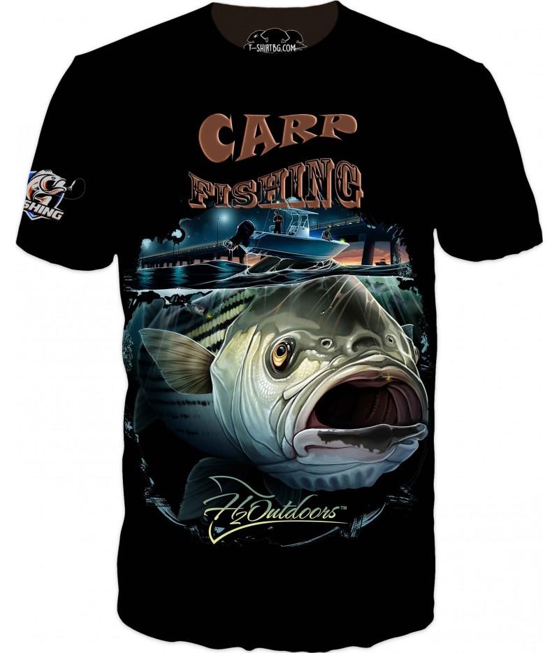 Страхотна риболовна тениска