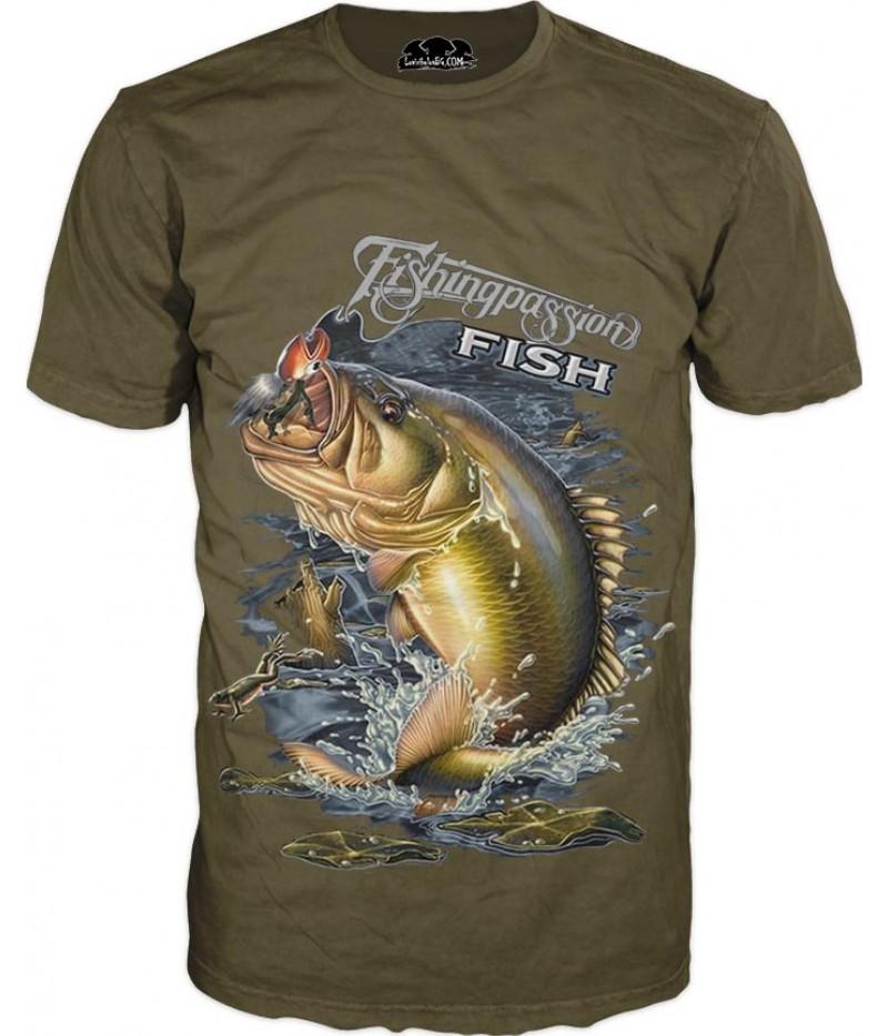 Риболовна тениска - забавна риба