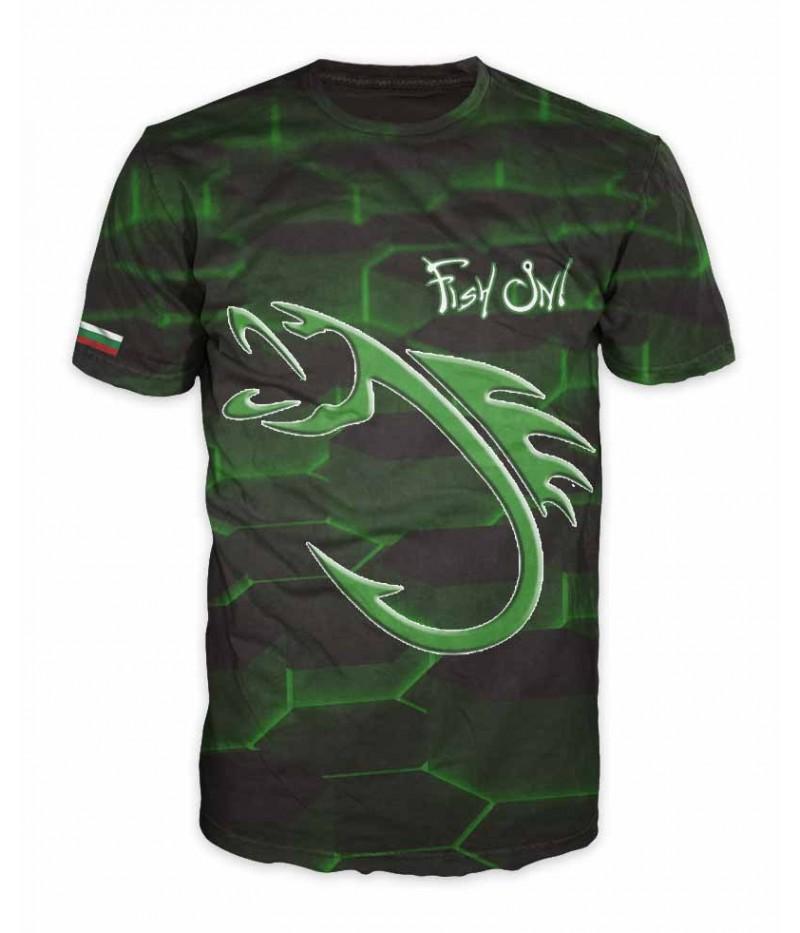 Mъжка риболовна тениска Fish On