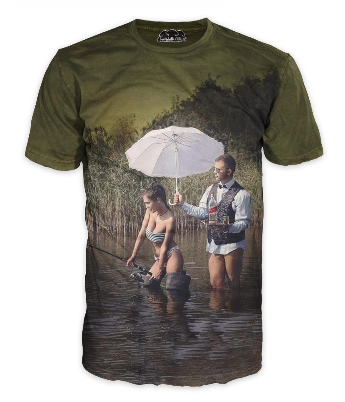 Риболовна тениска