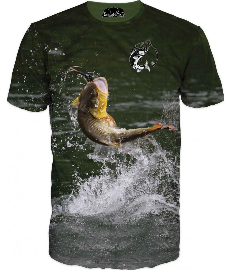 Риболовна тениска - риболов за всеки