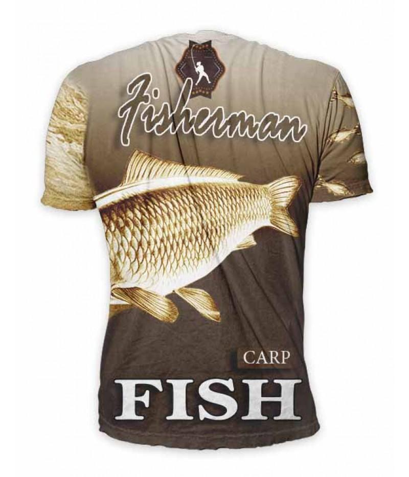 Риболовна тениска - Go Fish