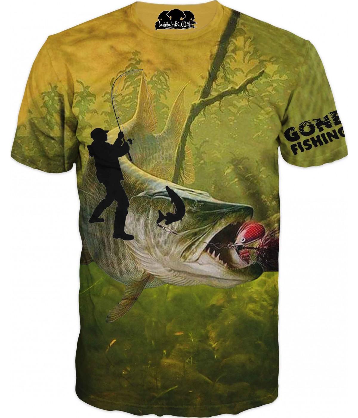 Риболовна тениска за всеки фен рибар