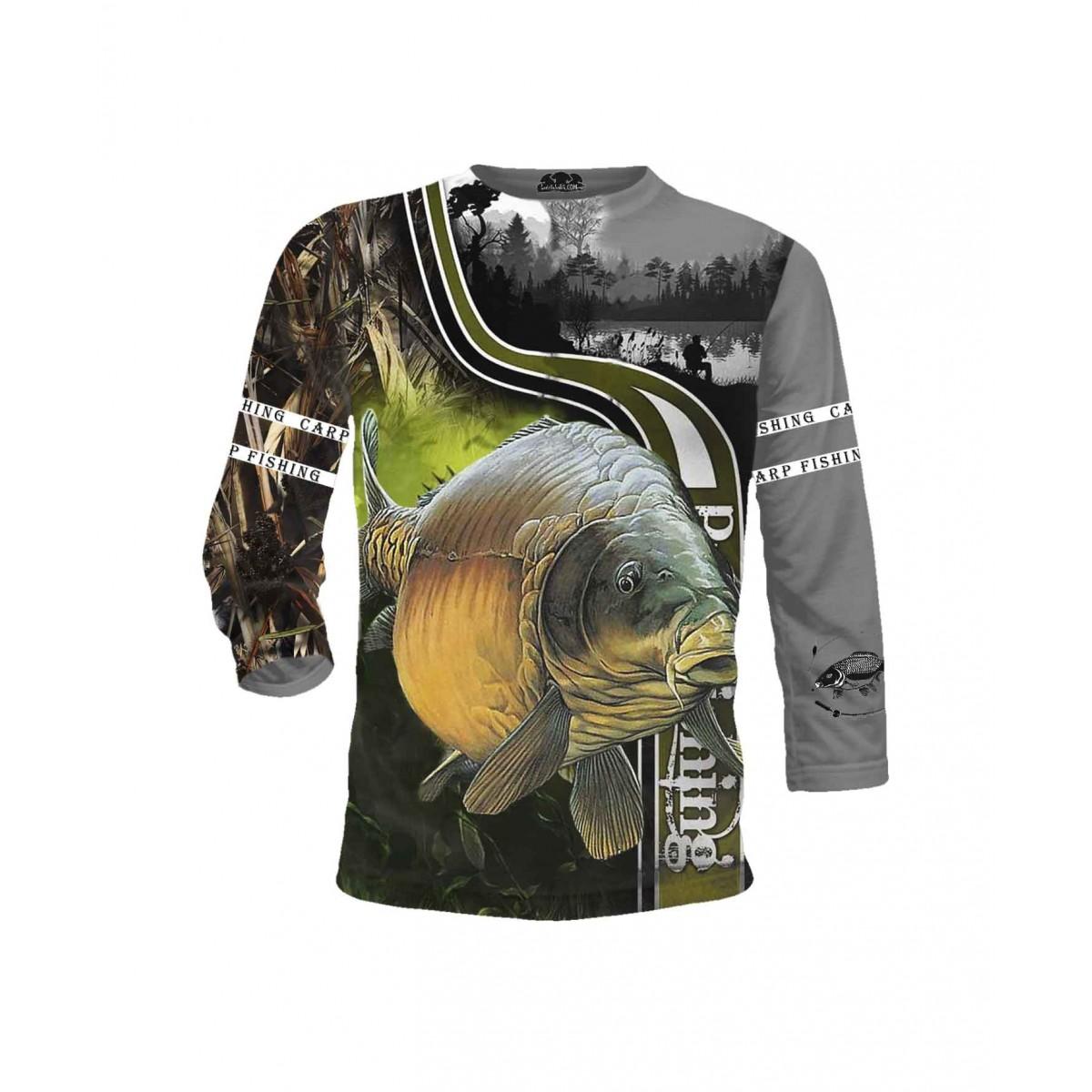 Риболовна тениска - за всеки фен - дълги ръкави