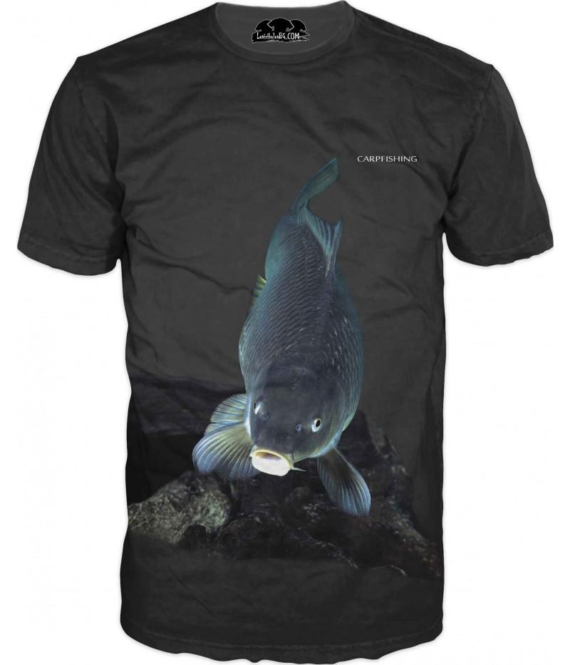 Риболовна тениска - шаран