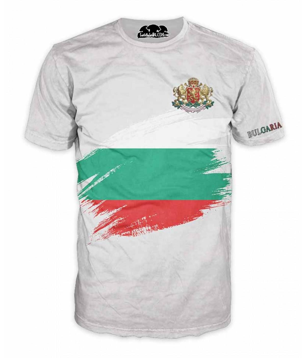 Mъжка тениска БЪЛГАРИЯ