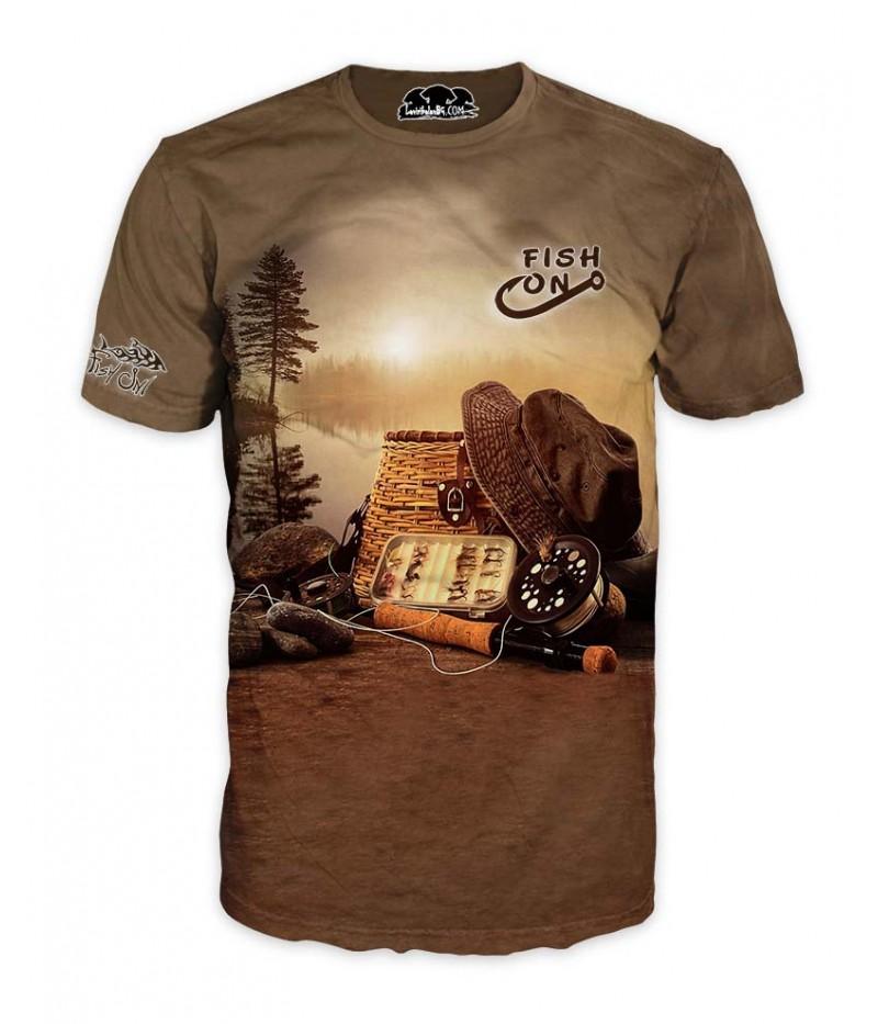 Mъжка риболовна тениска