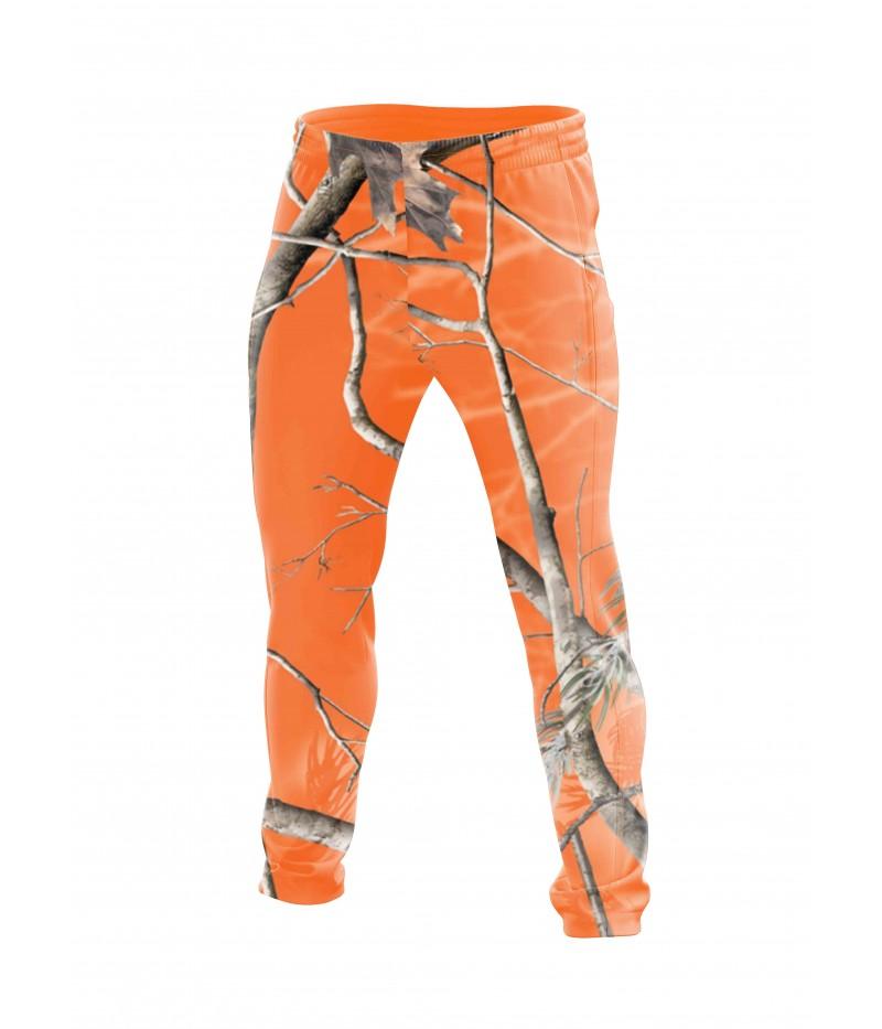 Ватиран екип-оранжев камуфлаж