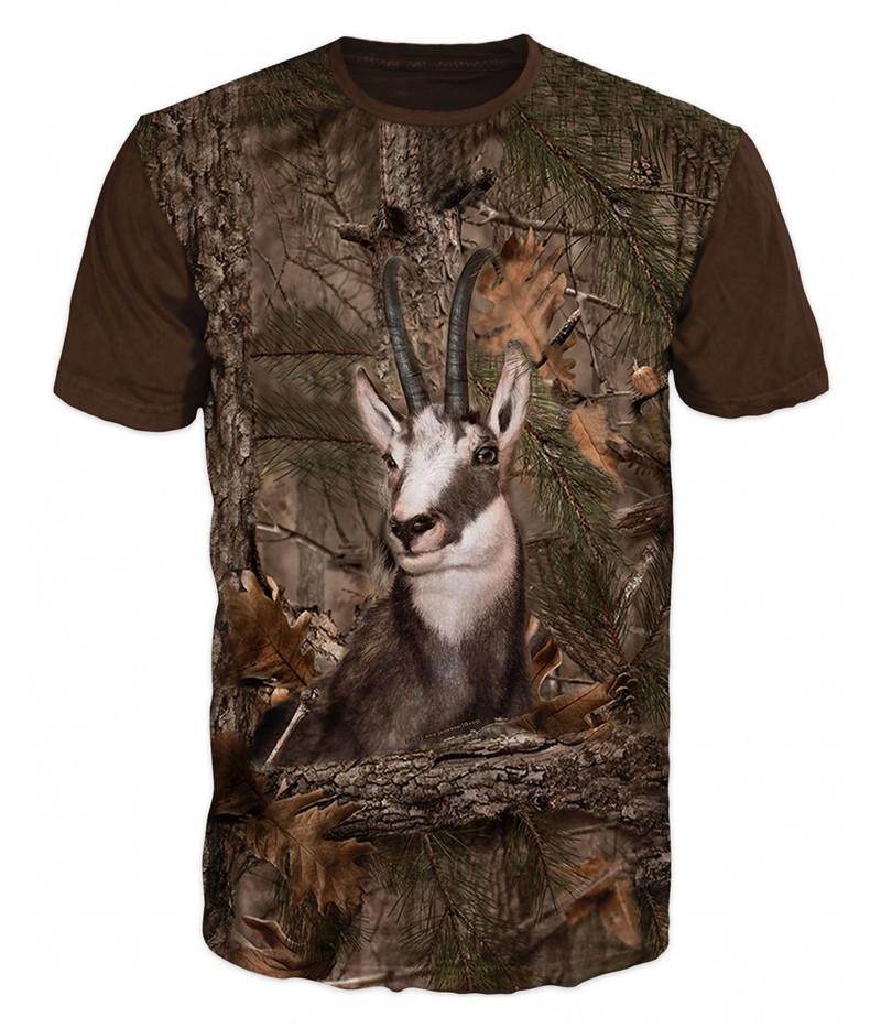 Ловна тениска с коза