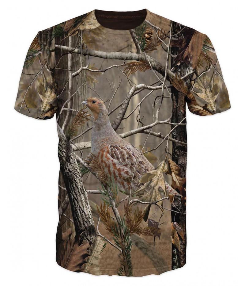 Ловна тениска с  фазан