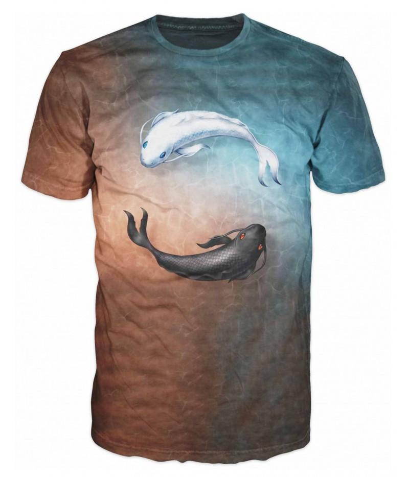 Риболовна тениска с две риби
