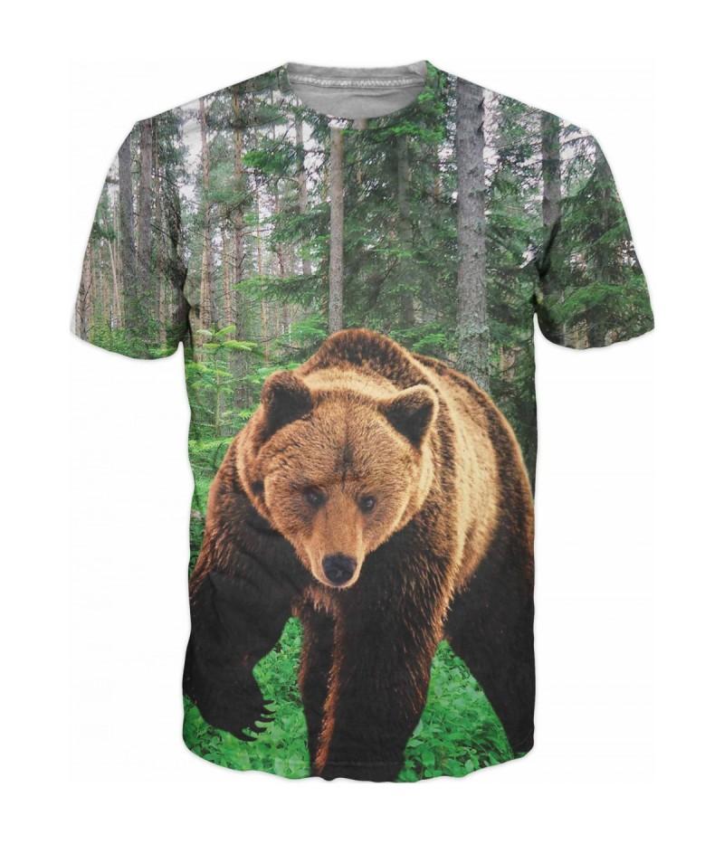 Ловна тениска с мечка