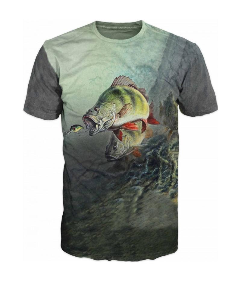 Риболовна тениска с костур