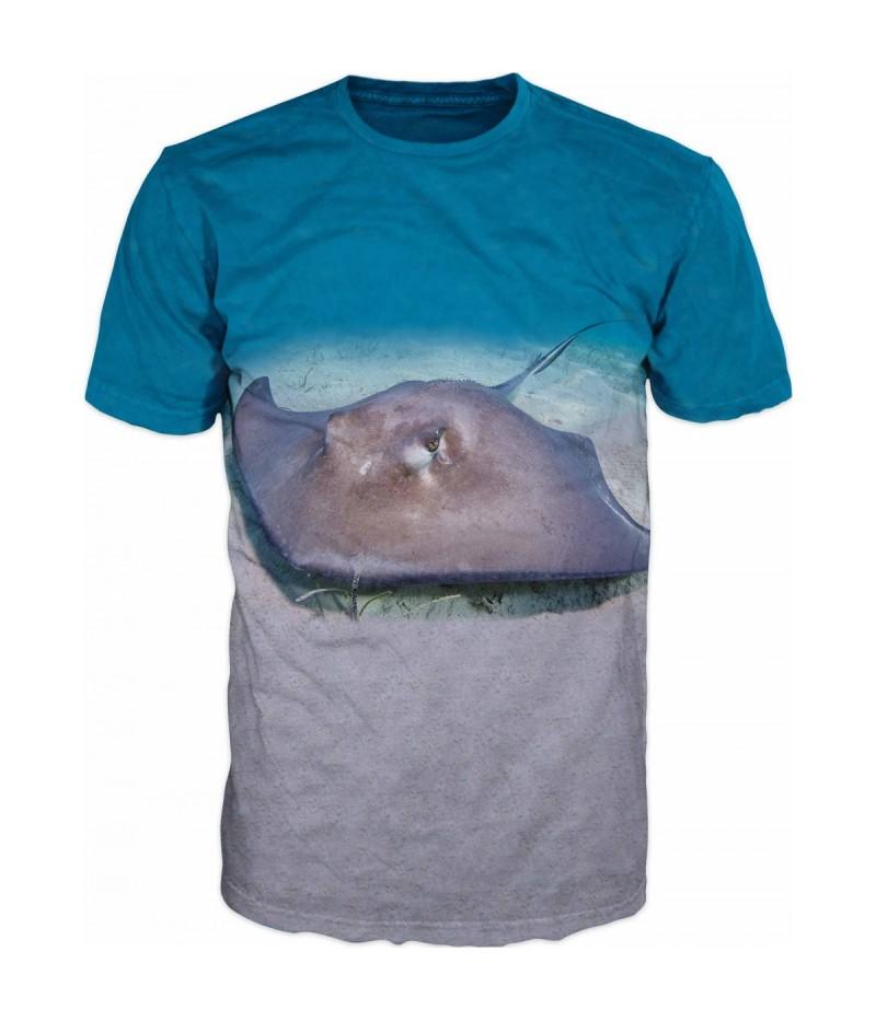 Риболовна тениска със скат