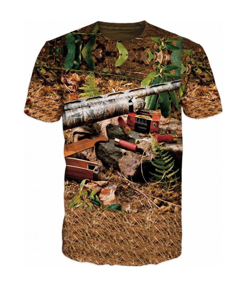 Ловна тениска камуфлаж
