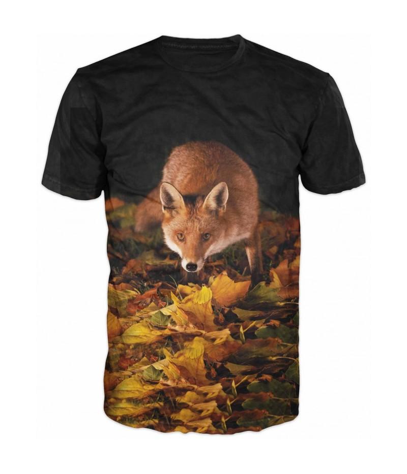 Ловна тениска с лисица