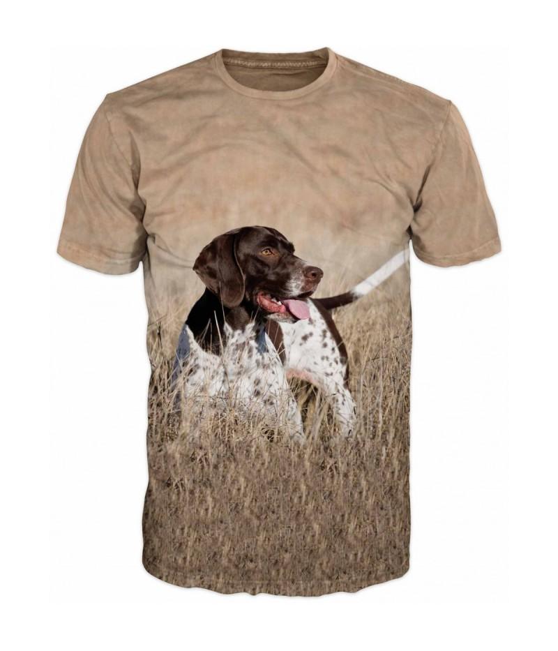Ловна тениска с Английски пойнтер